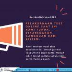 Pelaksanaan Tes Online PMB T.A. 2020/2021 DITUNDA